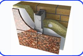 Система для облицовки натуральным камнем